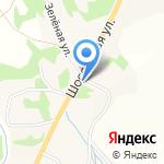 Дорожный на карте Бийска