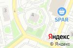 Схема проезда до компании Массажный кабинет на Архитекторов в Томске