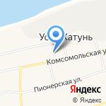 Усть-Катунская основная общеобразовательная школа Смоленского района на карте Бийска