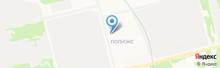 БИЯ-СИНТЕЗ на карте Бийска