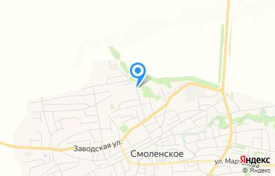 Местоположение на карте пункта техосмотра по адресу Алтайский край, с Смоленское, ул Техническая, д 28А, пом 1