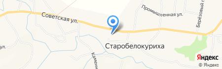 Сельский клуб на карте Старобелокурихи