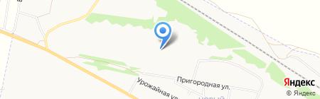 Чемровское ХПП на карте Бийска
