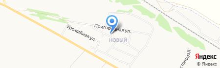 Дом культуры пос. Новый на карте Бийска