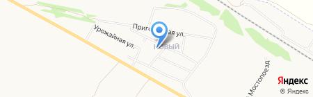 Основная общеобразовательная школа №32 на карте Бийска