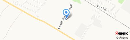 Пик на карте Бийска