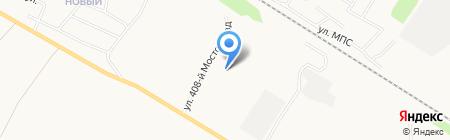 Кадрин Строй Комплект на карте Бийска