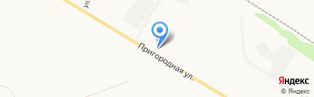 Сибинертстрой на карте Бийска