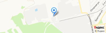 Миком на карте Бийска