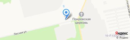 Специальная пожарная часть №2 на карте Бийска
