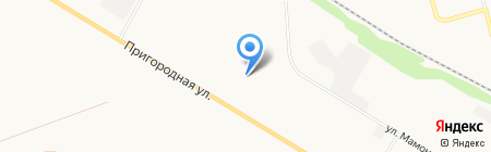 Дорожник на карте Бийска
