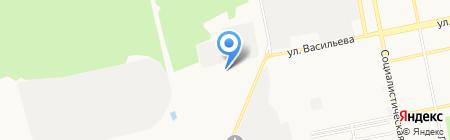 Бизнес Сайт на карте Бийска