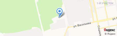 Торговая компания на карте Бийска