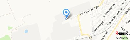 Сварог на карте Бийска