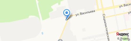 АвтоЛекс на карте Бийска
