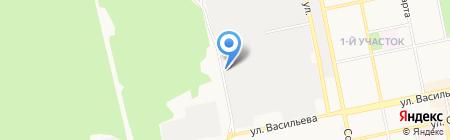 Смайл на карте Бийска