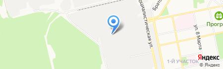 Арго на карте Бийска