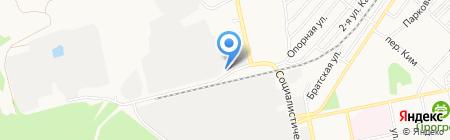 Аква-Лайв на карте Бийска