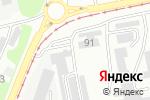 Схема проезда до компании Гаражно-строительный кооператив №4 в Бийске