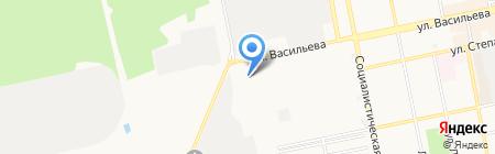 АлтайСтройФасад на карте Бийска