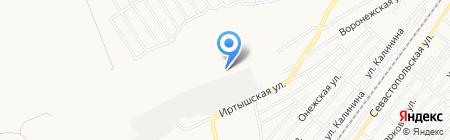АГЗС Газойл на карте Бийска
