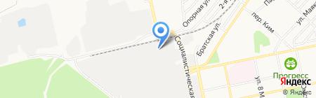 БиУз на карте Бийска