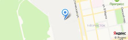 Би-Трейд на карте Бийска