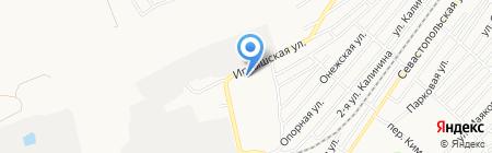 Окраина на карте Бийска
