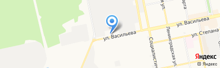 Автомойка на карте Бийска