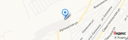 Вторчермет НЛМК Сибирь на карте Бийска