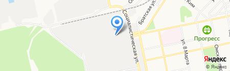 Алтпен на карте Бийска