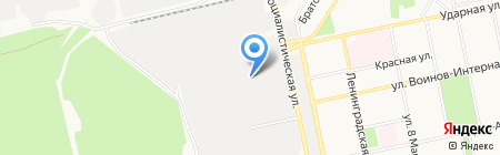 Проектный центр Бийского котельного завода на карте Бийска