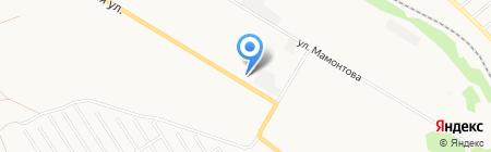 Алтайская топливная компания на карте Бийска