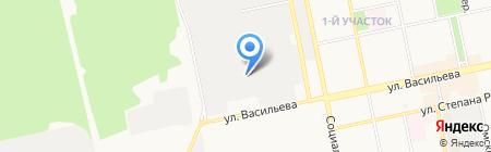 Автоэлектрик ТРМ на карте Бийска