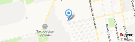 Автолюкс на карте Бийска