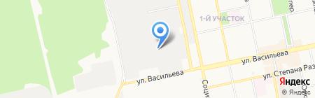 Сибирская соковая компания на карте Бийска