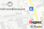 Схема проезда до компании Сибиряк в Бийске