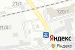 Схема проезда до компании 22 rus в Бийске