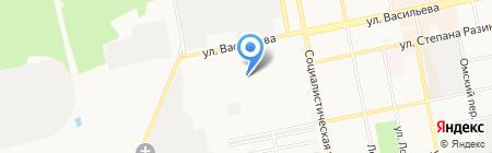 Отличное на карте Бийска