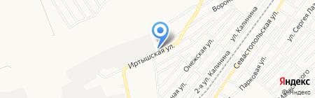 Связьстройкомплект на карте Бийска