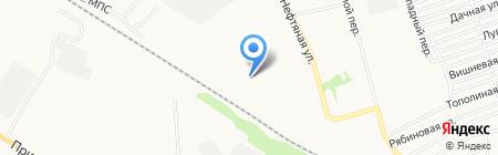 Теплоцентр на карте Бийска