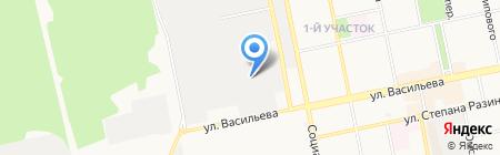 Арттекс на карте Бийска
