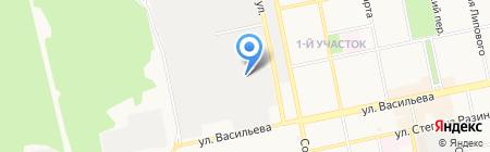 Двойка на карте Бийска