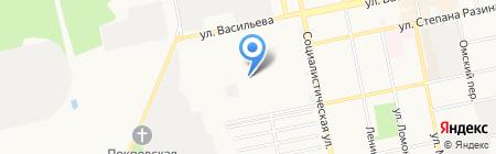 БЗТО на карте Бийска