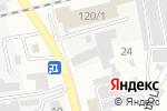 Схема проезда до компании ДЭУ Приобского района в Бийске