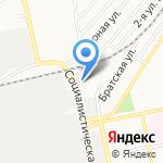 ДЭУ Приобского района на карте Бийска