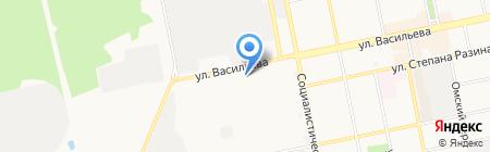 Чи-Лайн на карте Бийска