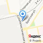 Центр социальной адаптации для лиц без определенного места жительства на карте Бийска