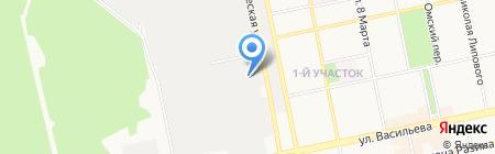 Стройтранс на карте Бийска