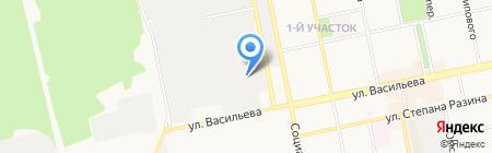 Овчинников и К на карте Бийска